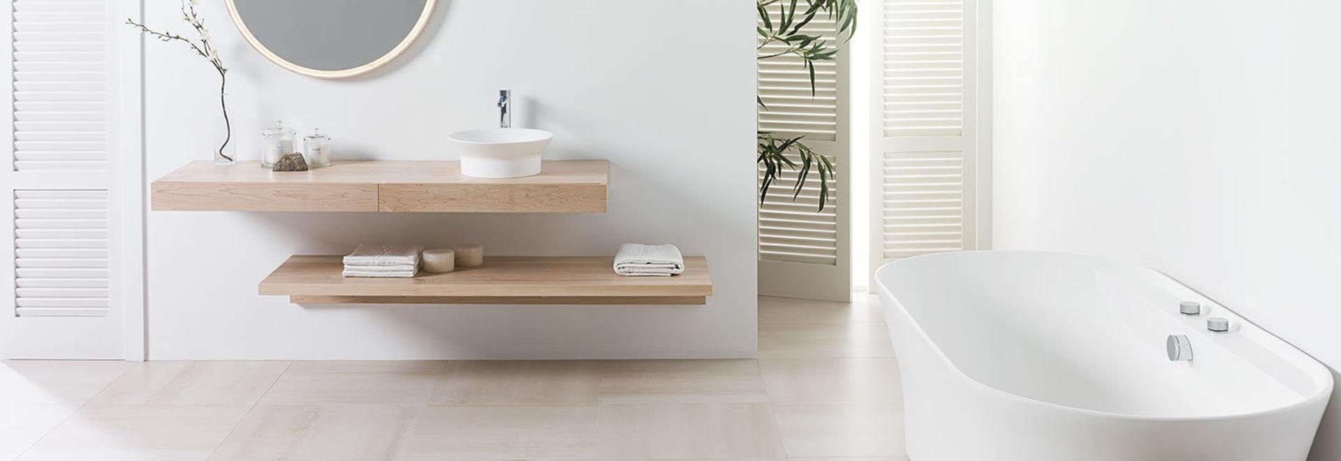 Holen der unbedeutenden Harmonie zu den Badezimmern - Villarreal ...