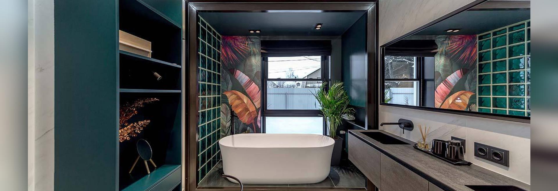 KRION Bath in den Badezimmern des Designers Alexey Aladashvili in ...