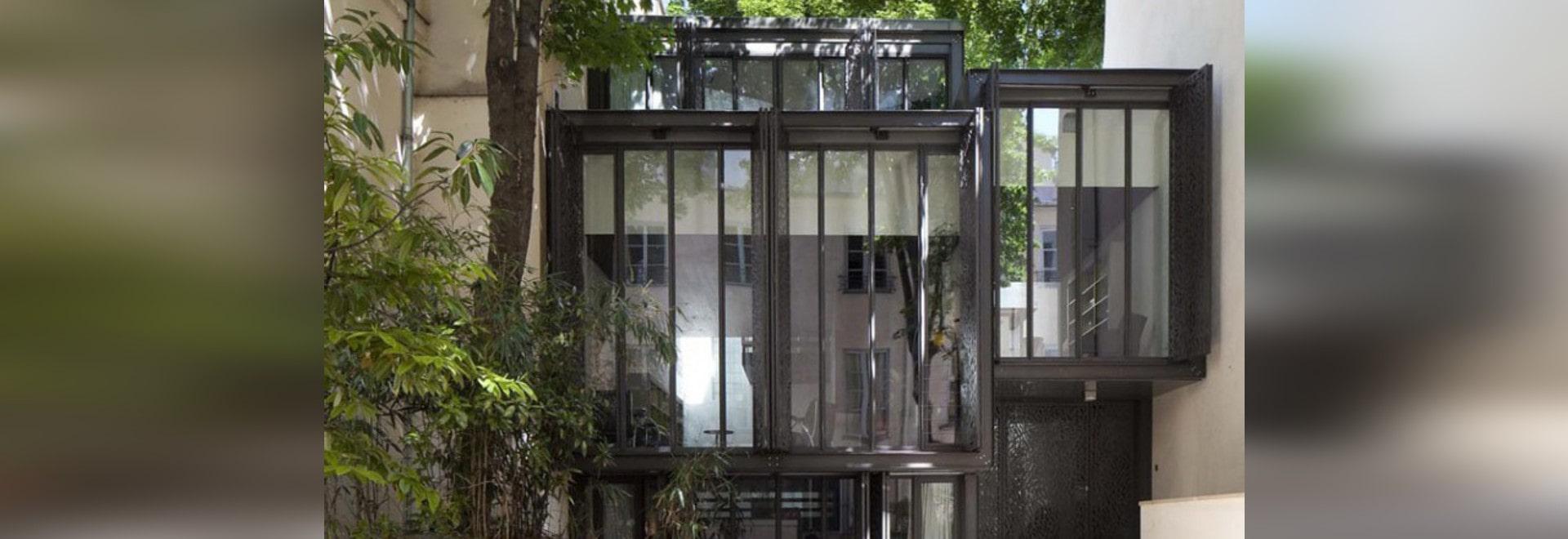 MAISON ESCALIER DURCH MOUSSAFIR ARCHITECTES - Paris, France