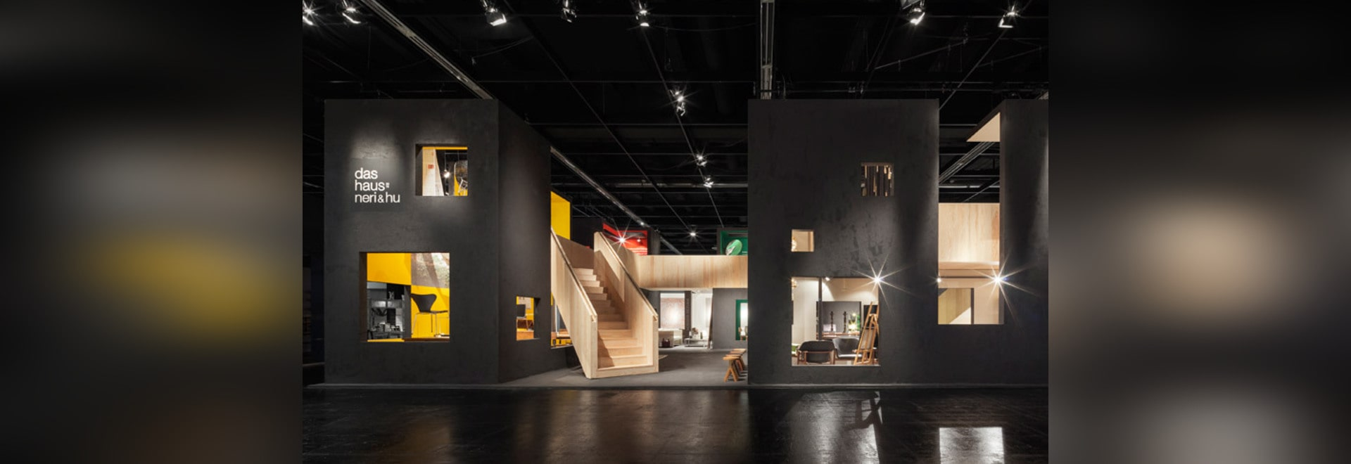 """Neri&Hus Installation DAS-Haus ist entworfen """"unsettle Leute ..."""