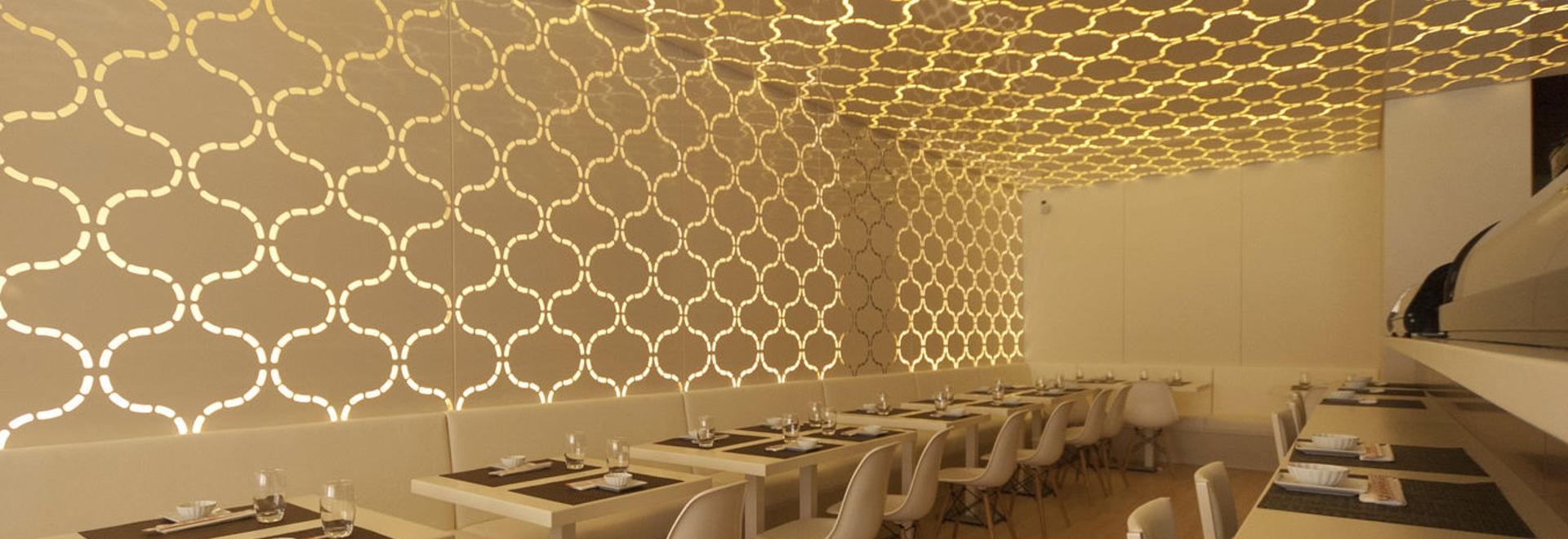 NEU: dekorative Verkleidung der Trennwand durch BPLAN