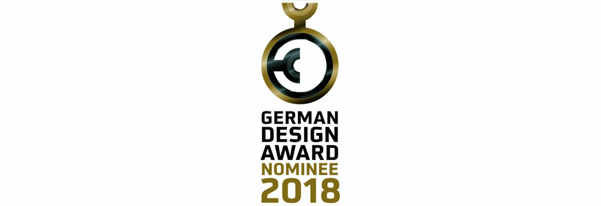 Nominierung zum German Design Award 2018