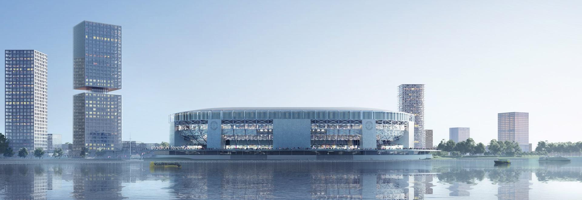 OMA stellt Pläne für größtes Fußballstadion in den Niederlanden vor
