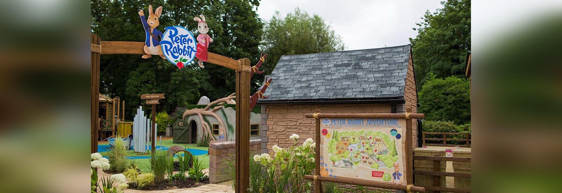 Peter Rabbit kommt in einem zweiten Freizeitpark im Vereinigten Königreich an
