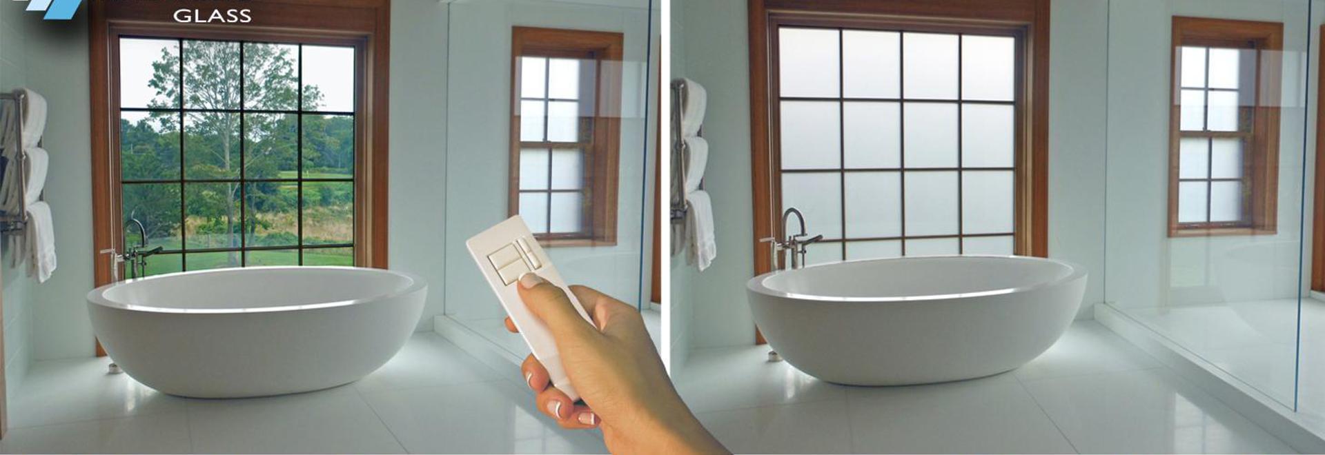 Privatleben Glas Badezimmer