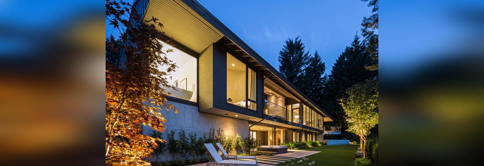 Randy Bens entwirft ein Haus um die Idee eines umfaßten, lebenden ...