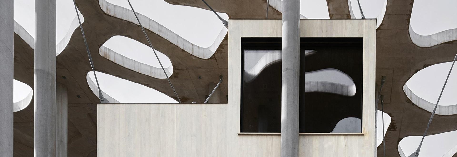 rintala eggertsson Architekten verschiebt sich hin- und herbewegende Verfasserkabinen 'zur Würdigung der Schatten'