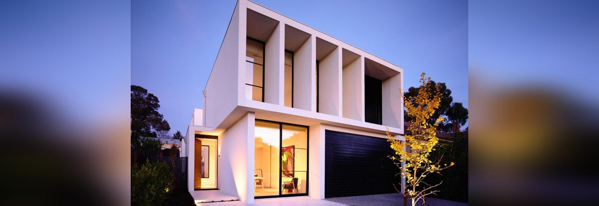 Das robinson-Konzept-Haus durch schlau für Lubelso - Melbourne VIC ...