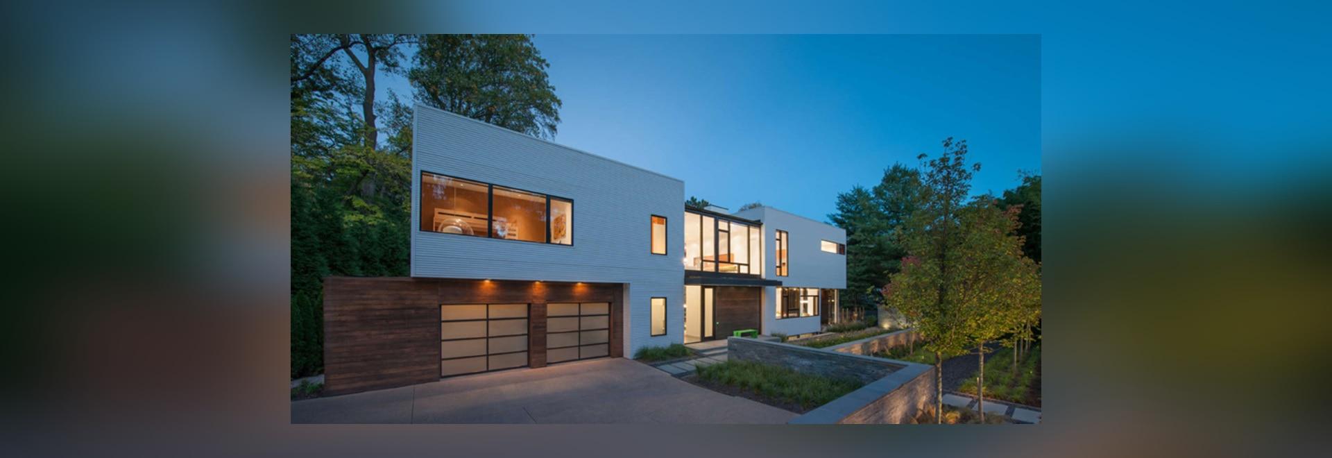 Rollbahre Robert-M. entwirft ein modulares Licht-Gefülltes Haus nahe ...