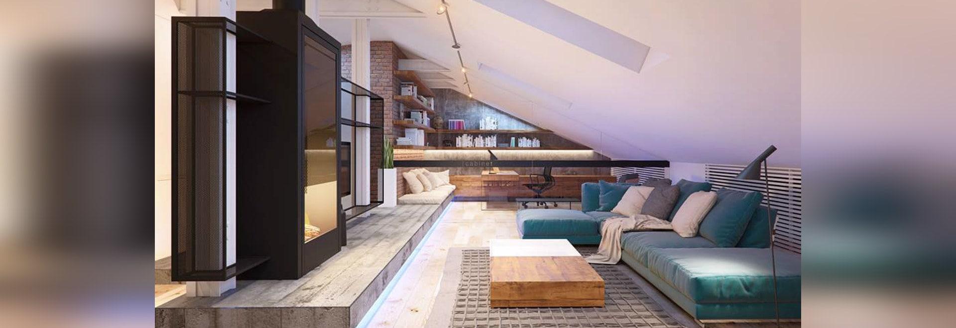 Ein Schlafzimmer 2 flach in Kiew mit glatten zeitgenössischen ...