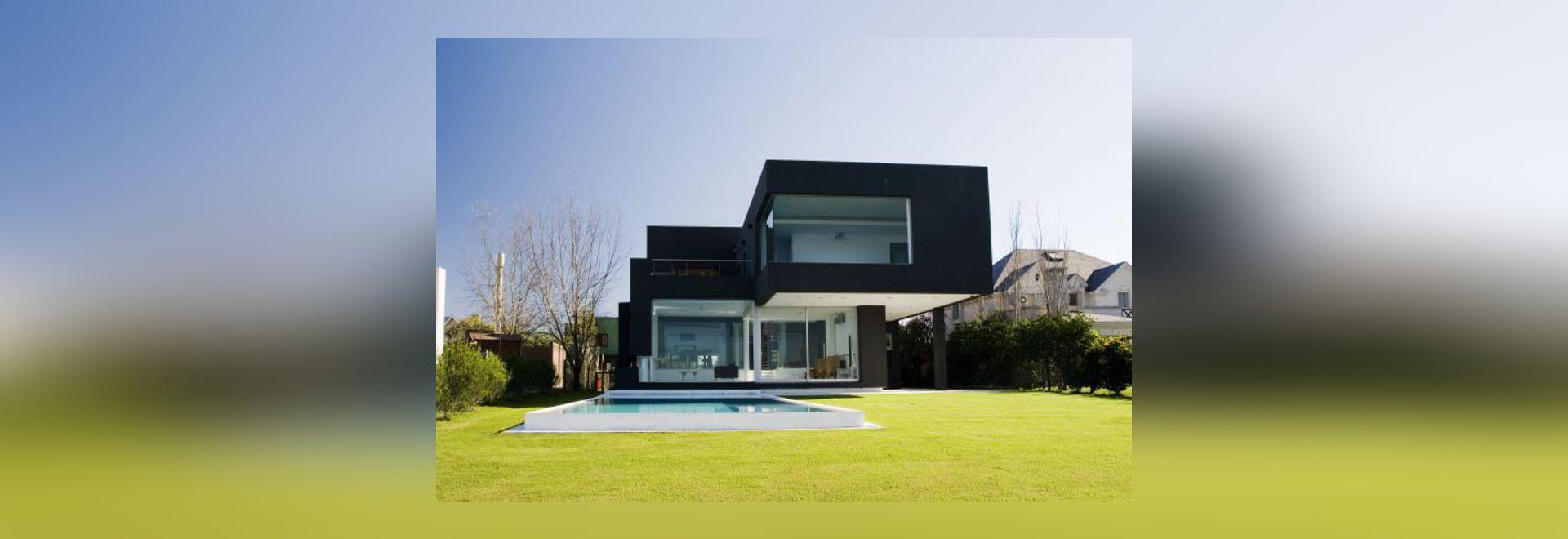 Das schwarze Haus durch Architekten Andrésremy - Buenos Aires, Argentina