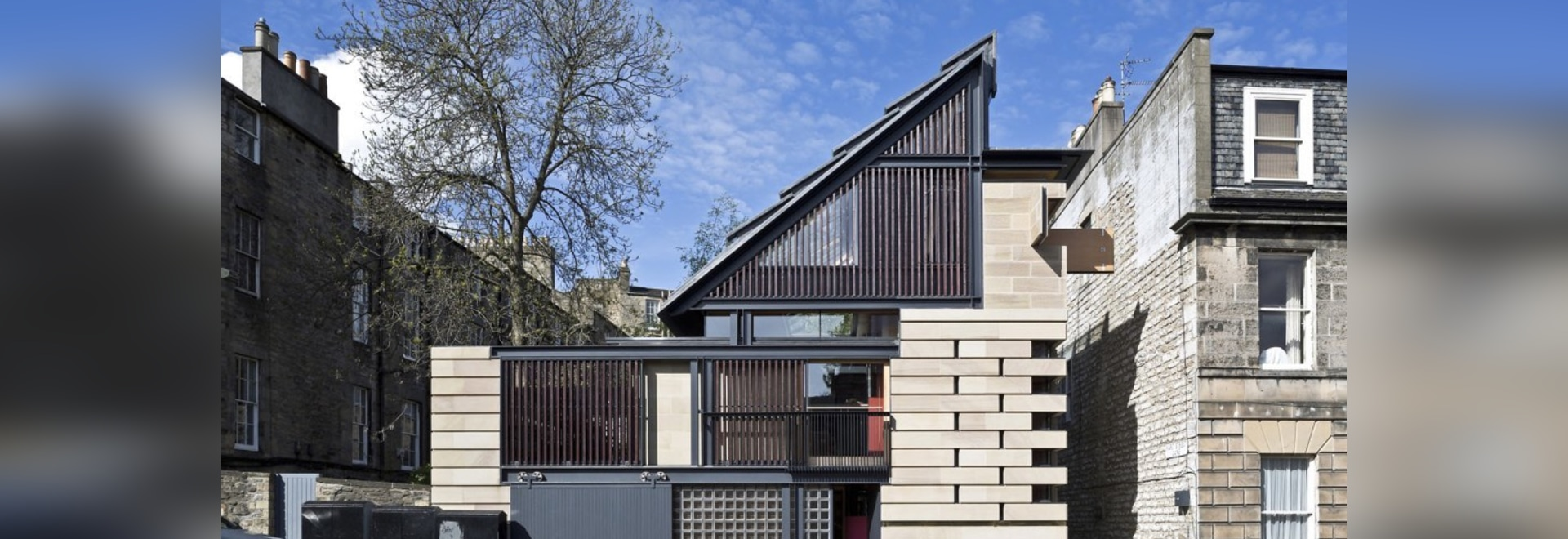Solar-angetriebenes Murphy-Haus ist eins von Edinburgh? s am ...
