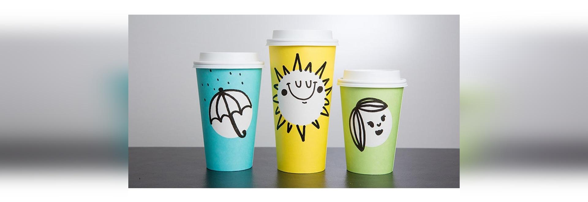 Starbucks stellt neue Frühling-themenorientierte Schalen in drei Spaß-Farben vor