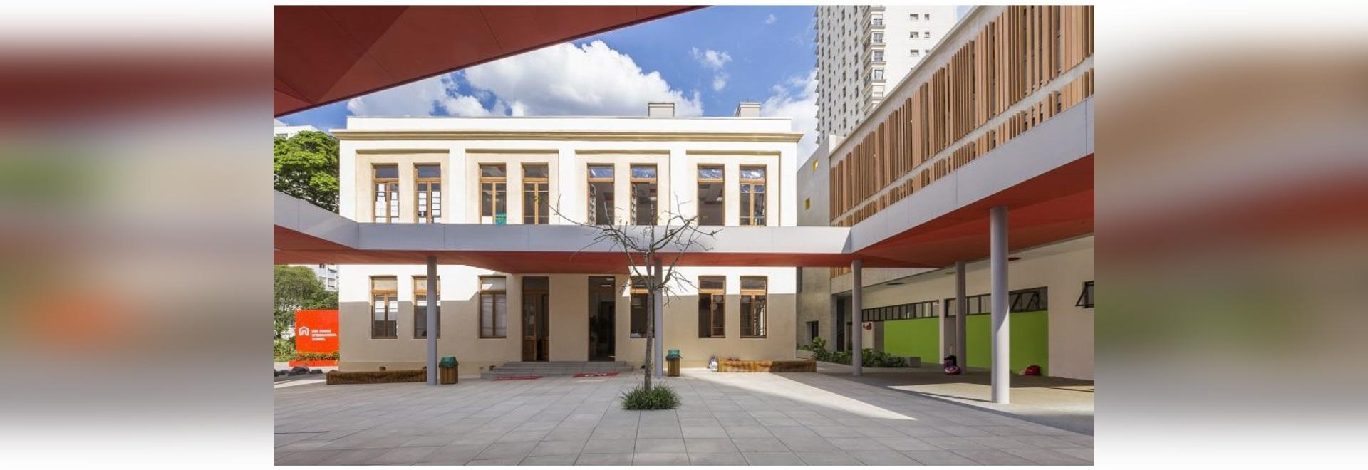 Studio Dlux wandelt historisches Gebäude in São Paulo in die Schule der Kinder um