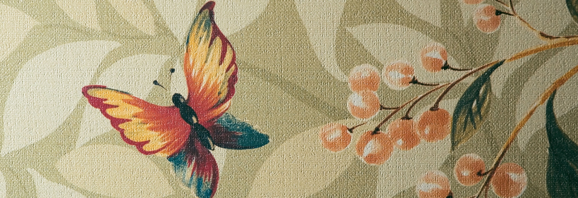 Tapeteneffektfliesen