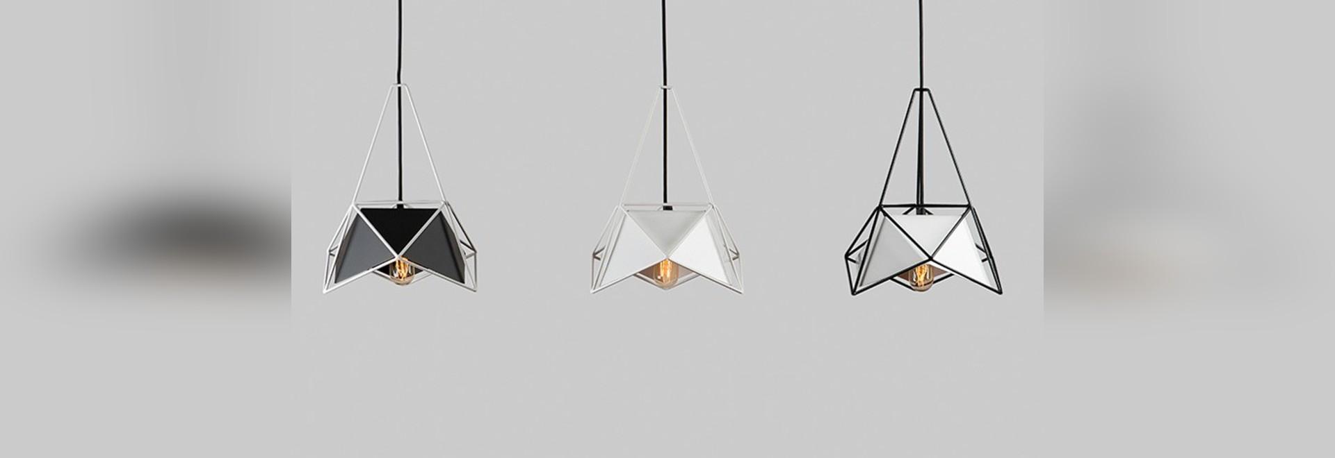 VERSCHIEBEN Sie die Entwurfs-hängenden Lampen, die durch einen ...