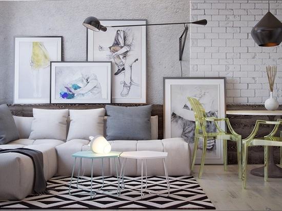 3 Schicke Moderne Eklektische Räume