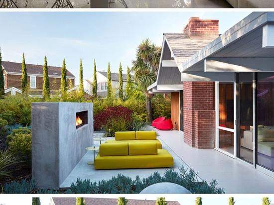 Elegant Dieses Mitte Des Jahrhunderts Moderne Eichler Haus In Kalifornien Erhielt  Einen Zeitgenossen Umgestalten