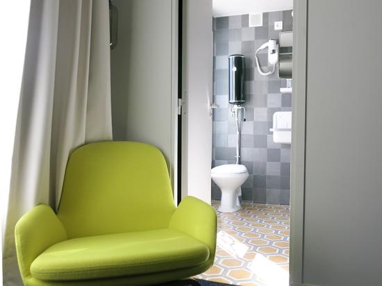 Installation im MATTLE-Hotel in Paris
