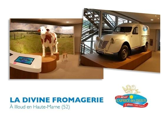 Göttliches Fromagerie BONGRAIN ein Illoud Frankreich