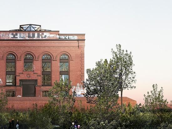 herzog u. de Meuron, zum des Brooklyn-Kraftwerks in Herstellungskunstmitte umzuwandeln