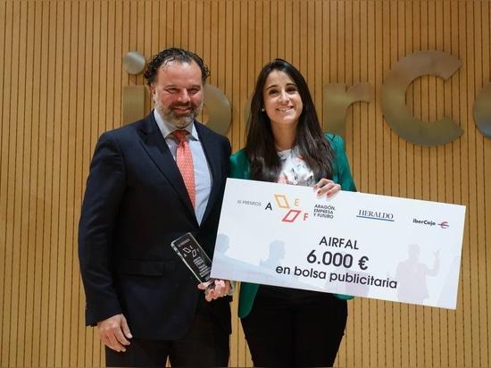 Airfal empfängt das Aragón-Unternehmen und den zukünftigen Preis betreffend soziale Verantwortung