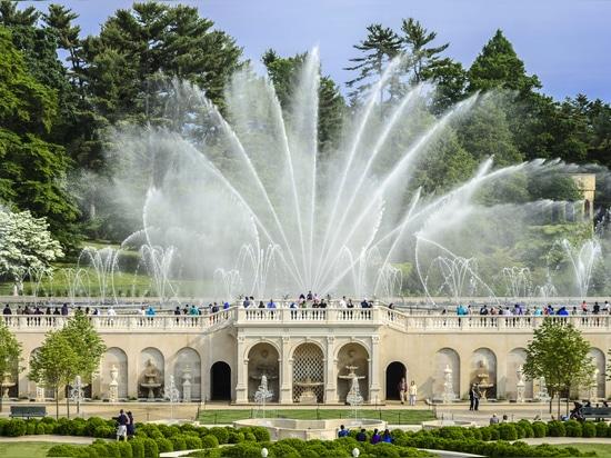 Hauptbrunnen-Garten - Longwood-Gärten