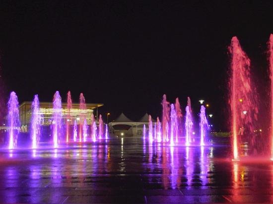 Fontaine de Quai Paquet - Durchquerung de Levis
