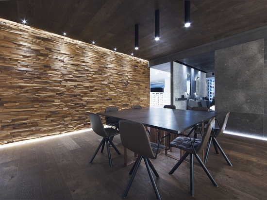 Wood Wall Mosaike