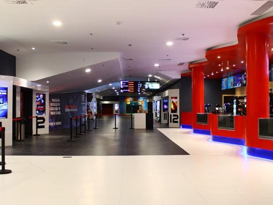 KRION® im modernsten Kino Europas: Multicines Odeon Sambil