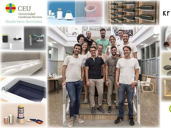 KRION arbeitet mit dem CEU zusammen, beim Master für Produktdesign, der von Inma Bermúdez Studio unterrichtet wird