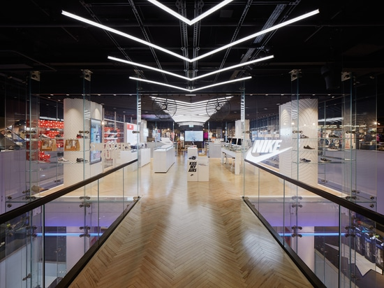 KRION® in Nike Town, Oxford Street, London, Just Do It