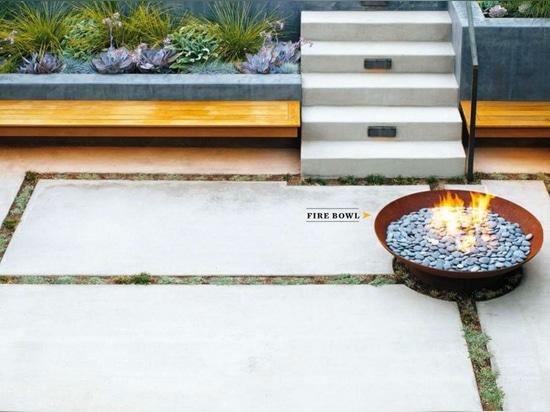 Feuerschüssel Bol CorTen | Projekt durch Beth Mullins | Fotografie durch Caitlin Atkinson für Sonnenuntergang-Zeitschrift