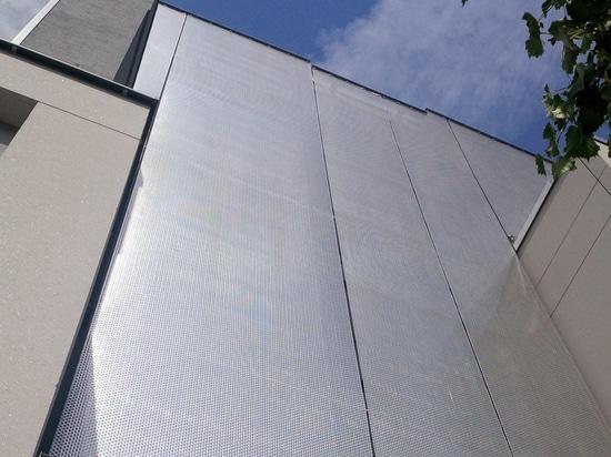 HAVER-Architekturmaschen-Fassadenumhüllung