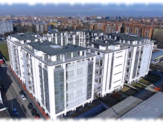 Wohnkomplex Q5 in Mailand-Überblick