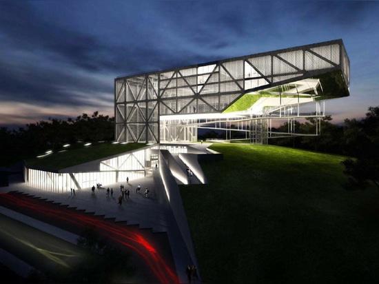 MUSEU DA TOLERÂNCIA durch Frentes Arquitetos. Struktur durch YCON Engenharia.
