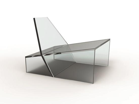 Summenstuhl durch Zanine für Glas 11