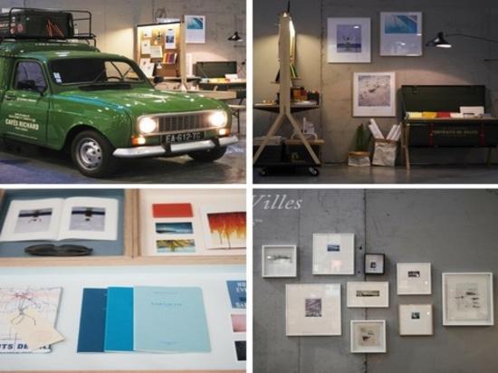 Gekennzeichnet (von links nach rechts verlaufend): Ross Dolton, Portraits de Ville – Foto durch Sylvain Lewsis an M&O und Pikaplant