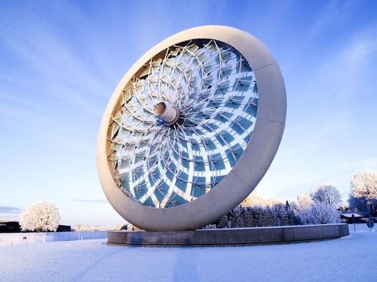 Solhjulet-Skulptur, Dänemark