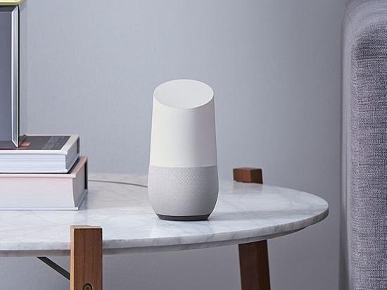 """""""Google-Haus: ein Sprecher, zum auf dem Amazonas-Echo"""" über The Verge schließlich zu nehmen."""