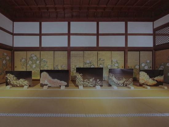 Japanisches Architekt und Künstler Mitsuyasu Yokotas WaGlass