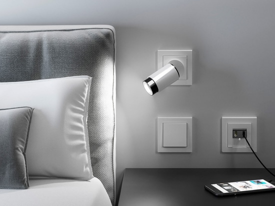 PLUG & LIGHT –  Developed by Insta  featured by Gira and JUNG