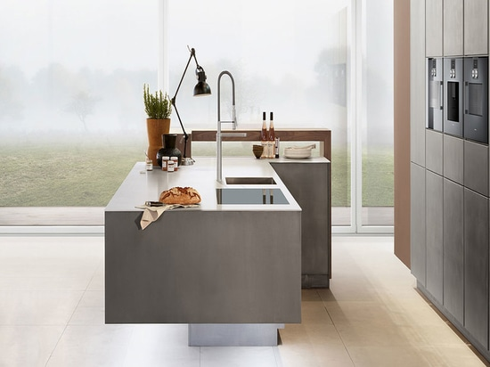 Zeyko-Küchenlösung. Die London-ansässige Firma arbeitet mit Holz, Metall und Beton.