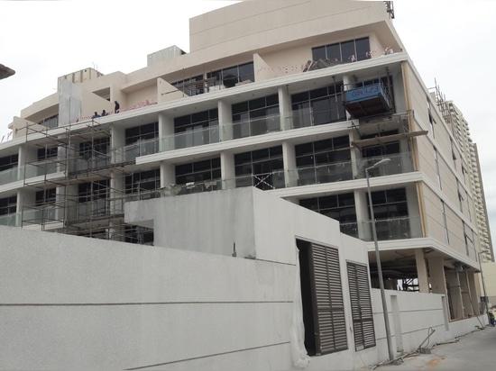 Geliefert 105 Miniküchen am Shamal-Wohnsitz-Gebäude in Dubai