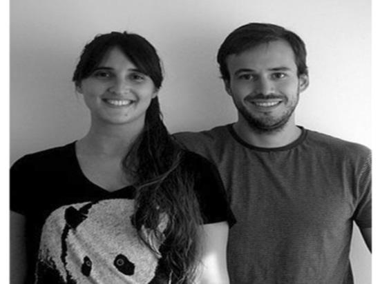 Designerpaare Andrea Kac und Herman Schenck, Gründer von Ambueblate-Studio