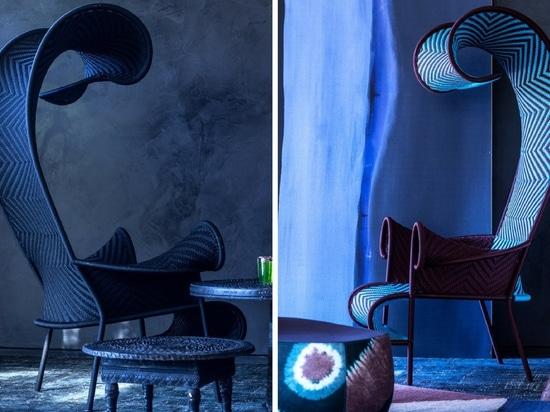 Der schattenhafte Stuhl von Morosos M'Afrique-Sammlung