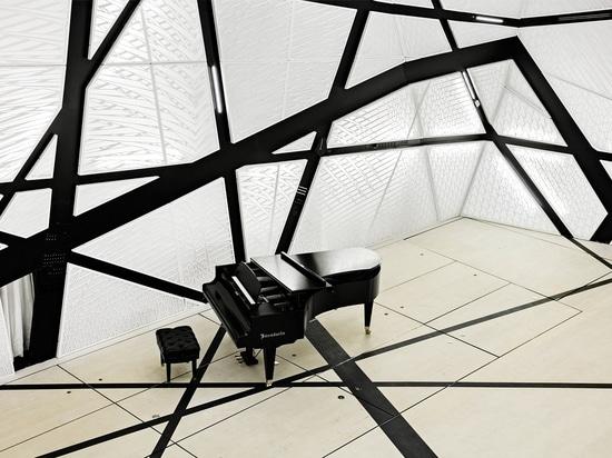 Höflichkeit des Architekten Peter Zuspan