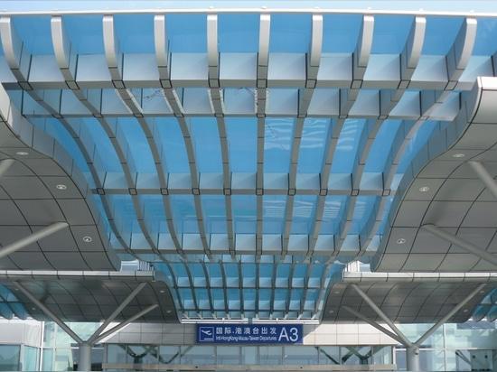 Festes Polycarbonats-Architekturplatten-System SUNGLAZE™