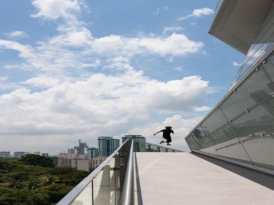 The Star in Singapur entwarf durch Andrew Bromberg. Höflichkeit von Andrew Bromberg bei Aedas.