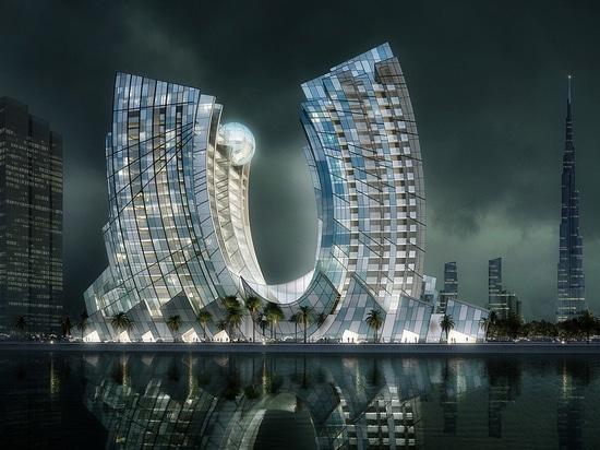 """J eins, """"das Juwel von Dubai"""". Höflichkeit von RKM Durar"""